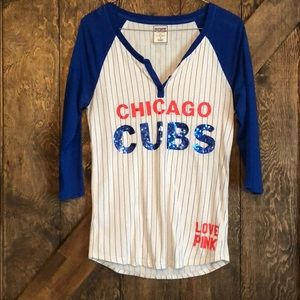 PINK Cubs 3/4 sleeve